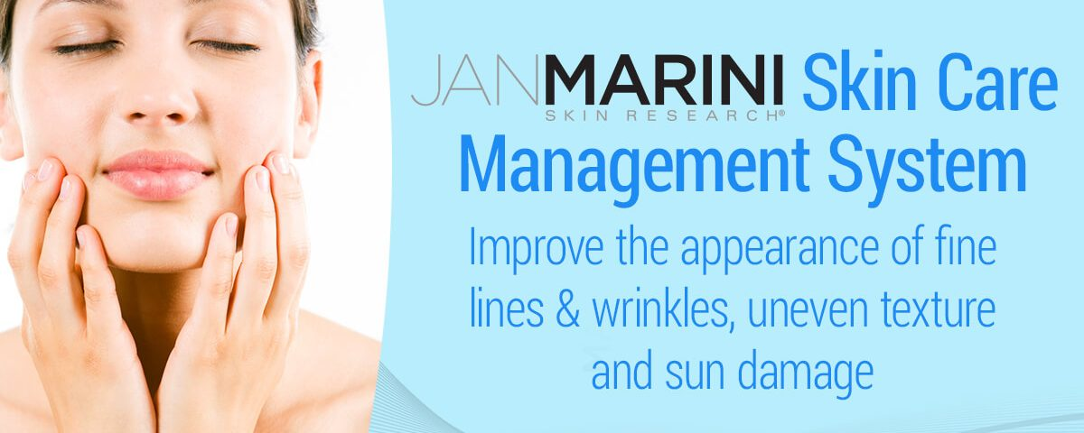 Jan Marini Skin Care Management System. Improve the appearance of fine lines, wrinkles, uneven texture and sun damage