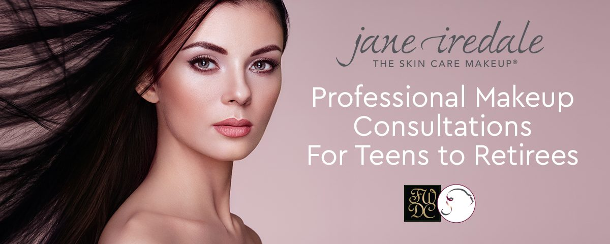 Jane Iredale Professional Makeup Consultations for Teens to Retirees